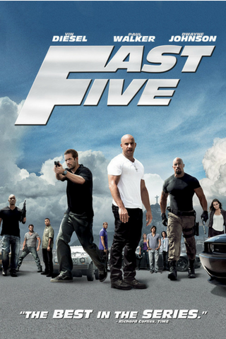 Fast Five (Fast & Furious 5) (2011) (C) - Anthology Ottawa