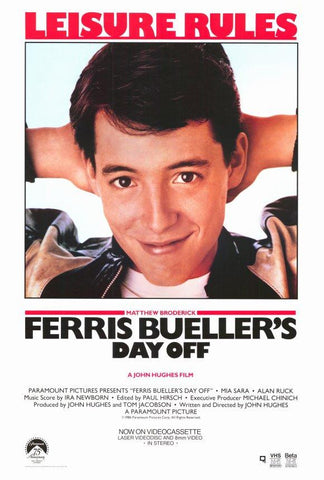 Ferris Bueller's Day Off (1986) (C) - Anthology Ottawa