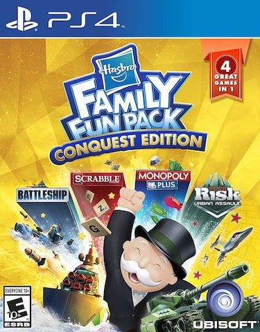 Hasbro Family Fun Pack: Conquest Edition (2016) PS4 (GHNR) - Anthology Ottawa