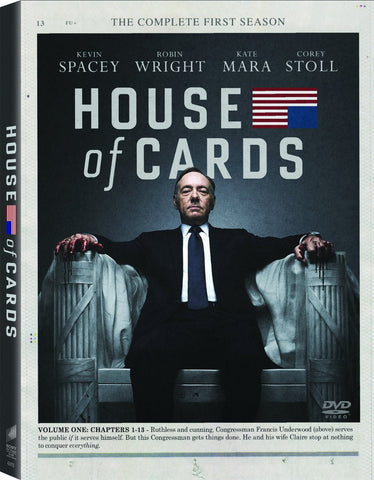 House of Cards: The Complete First Season (2013) (TC) - Anthology Ottawa
