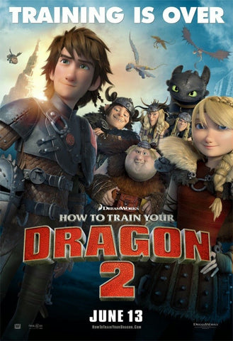 How To Train Your Dragon 2 (2014) (C) - Anthology Ottawa