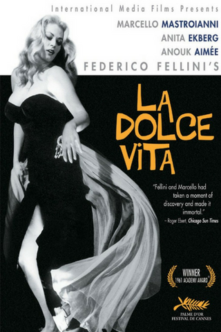 La Dolce Vita (1960) (RC) - Anthology Ottawa