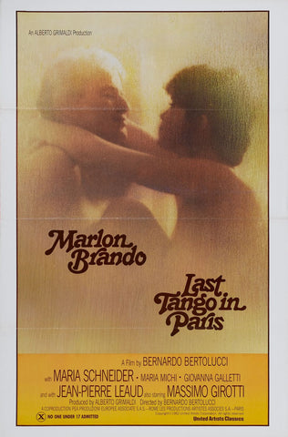 Last Tango In Paris (aka Ultimo tango a Parigi) (1972) (C) - Anthology Ottawa