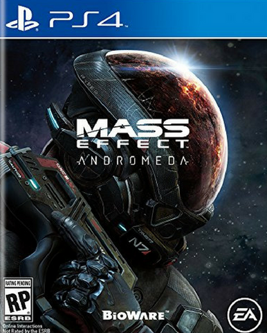 Mass Effect: Andromeda (2017) PS4 (GHNR)