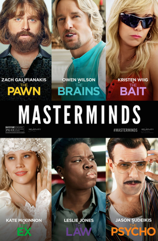 Masterminds (2016) (HNR) - Anthology Ottawa