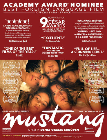 Mustang (2015) (HNR) - Anthology Ottawa