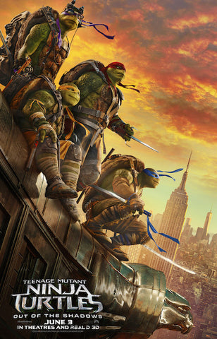 Teenage Mutant Ninja Turtles: Out Of The Shadows (2016) (HNR) - Anthology Ottawa