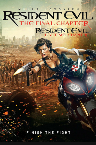 Resident Evil: The Final Chapter (2016) (HNR) - Anthology Ottawa