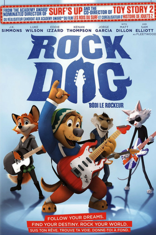 Rock Dog (2016) (HNR) - Anthology Ottawa