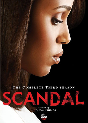 Scandal: The Complete Third Season (2013) (TC) - Anthology Ottawa