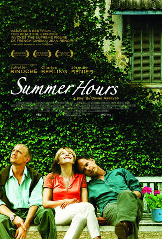 Summer Hours (aka L'Heure d'été) (2008) (RC) - Anthology Ottawa