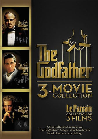 The Godfather 3-Movie Collection (1972-1990) (TFC) - Anthology Ottawa