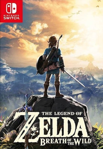 The Legend of Zelda: Breath of the Wild (2017) Switch (GHNR)