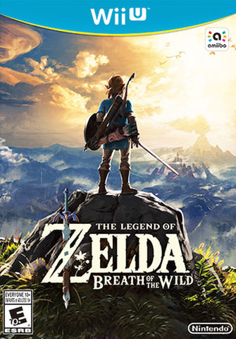 The Legend of Zelda: Breath of the Wild (2017) Wii U (GHNR)