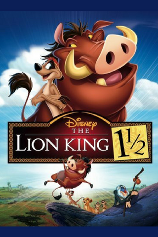 The Lion King 1 1/2 (2004) (RC) - Anthology Ottawa
