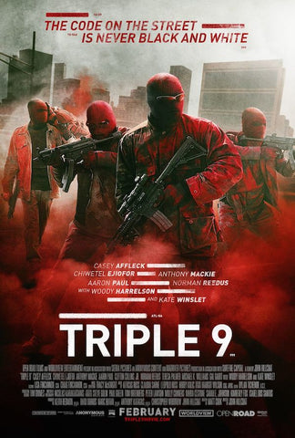 Triple 9 (2016) (HNR) - Anthology Ottawa
