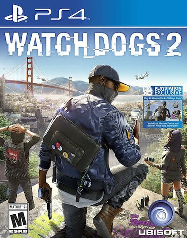 Watch Dogs 2 (2016) PS4 (GHNR) - Anthology Ottawa