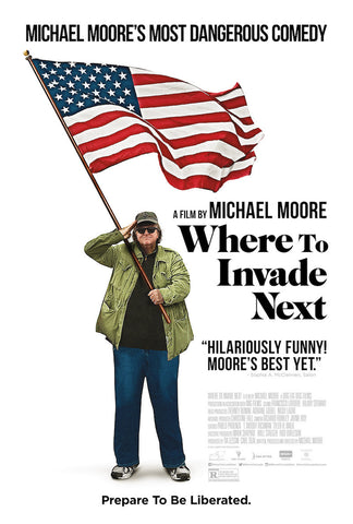 Where To Invade Next (2015) (HNR) - Anthology Ottawa