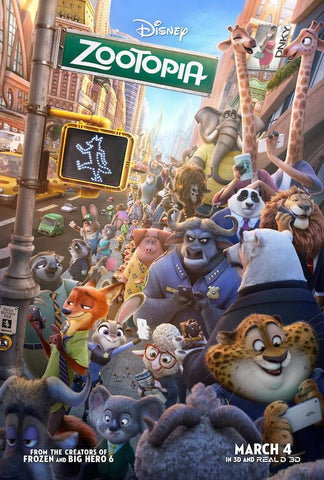 Zootopia (2016) (HNR) - Anthology Ottawa