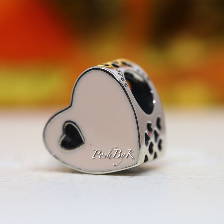 Pandora Sweet Love Heart Charm 791812EN40 - Posh By K
