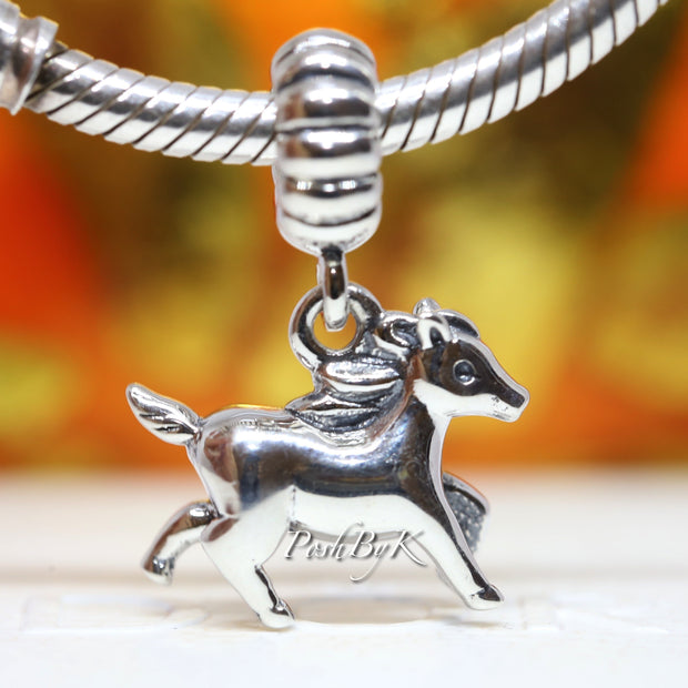 Pandora Free Spirit Sterling Silver Dangle Charm 791099 *Retired* - Posh By K