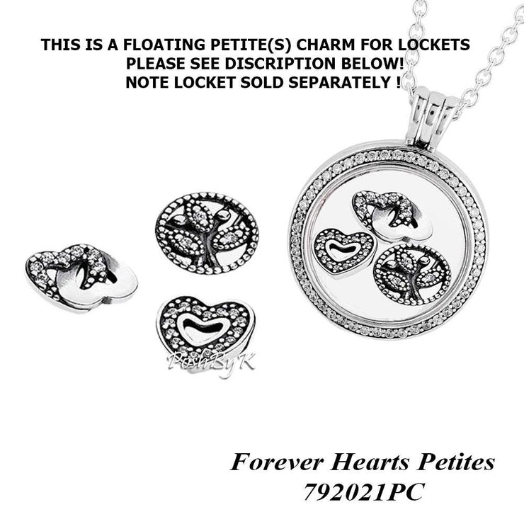Pandora Love & Family 3 Set Petites Charm 792022CZ - Posh By K