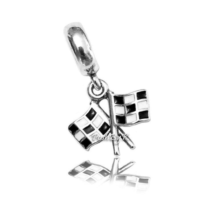 Pandora Finish Line Racing Charm 791508ENMX - Posh By K