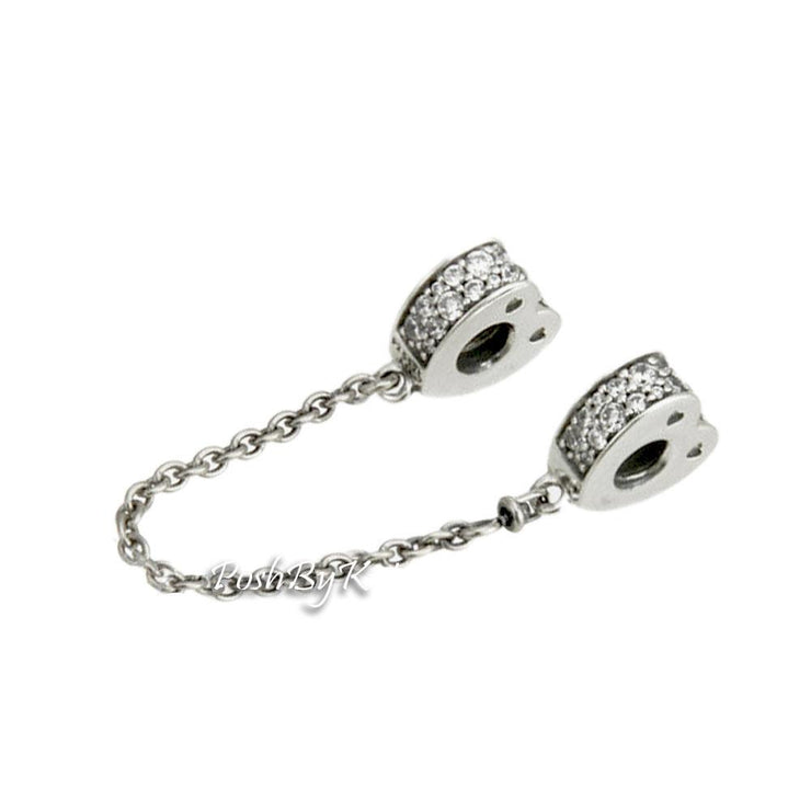Pandora Sparkling Arcs of Love Safety Chain Charm 797138CZ-05 - Posh By K