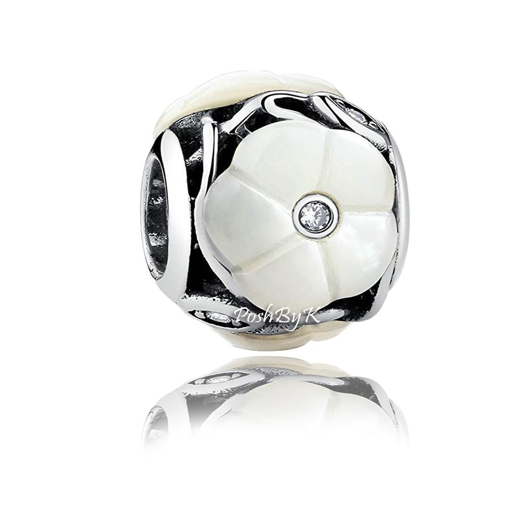Pandora Luminous Florals Mother of Pearl Charm 791894MOP - Posh By K