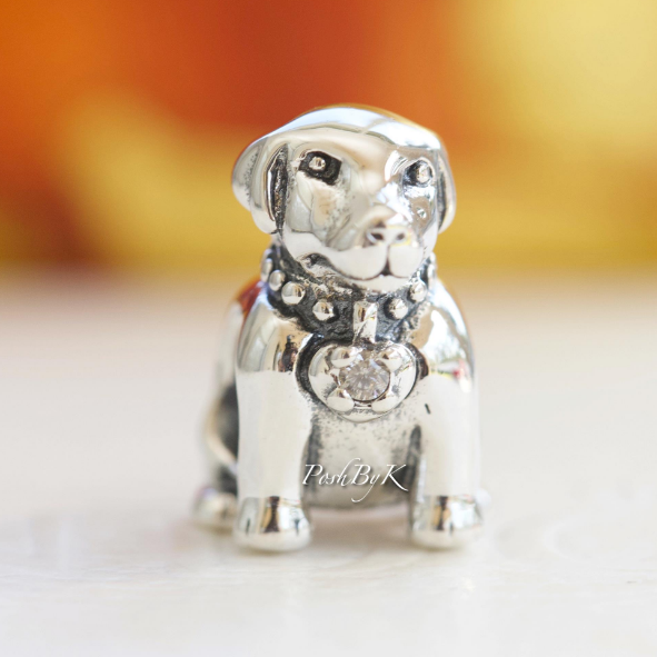 Pandora Labrador Dog Slide Bead Charm 791379CZ - Posh By K