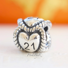 Pandora 21st Birthday Milestone Charm 791048 *Retired* - Posh By K