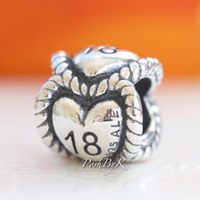 Pandora 18th Birthday Milestone Charm 791047 *Retired* - Posh By K