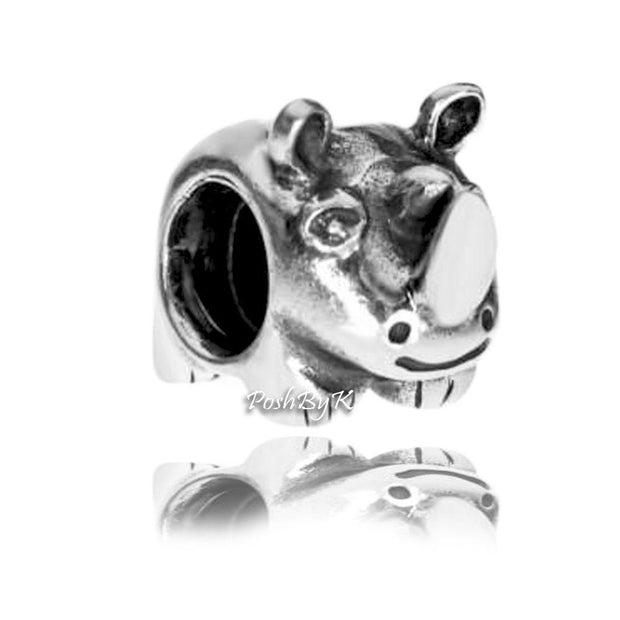 Pandora Rhino Rhinoceros Charm 790252 Retired - Posh By K