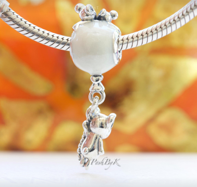 Pandora Mouse & Shimmering Balloon Dangle Charm 797240EN23 - Posh By K