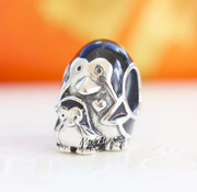 Pandora Penguin Family Charm 791404EN60 *New* - Posh By K