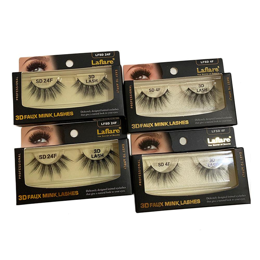 Laflare 3D Faux Mink Lashes - Posh By K
