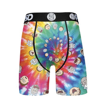 PSD Rick And Morty - Tie Dye Swirl Boxer Briefs - Posh By K