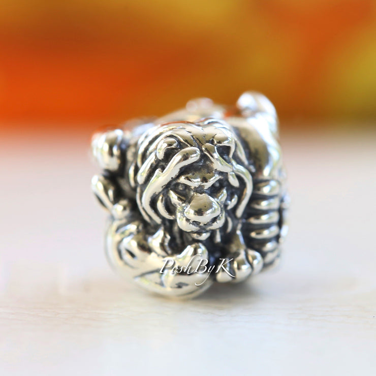 Pandora Safari Lion Zebra Elephant Charm 791360 - Posh By K