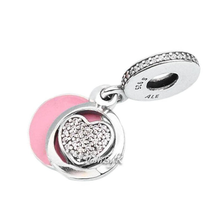 Pandora Devoted Heart Charm 792149EN24 - Posh By K