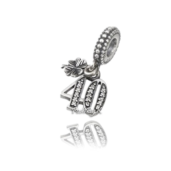 Pandora 40 Years Of Love Charm 791288CZ - Posh By K