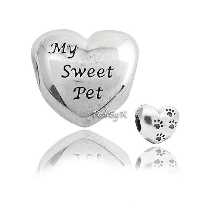 Pandora My Sweet Pet Paw Charm 791262 - Posh By K
