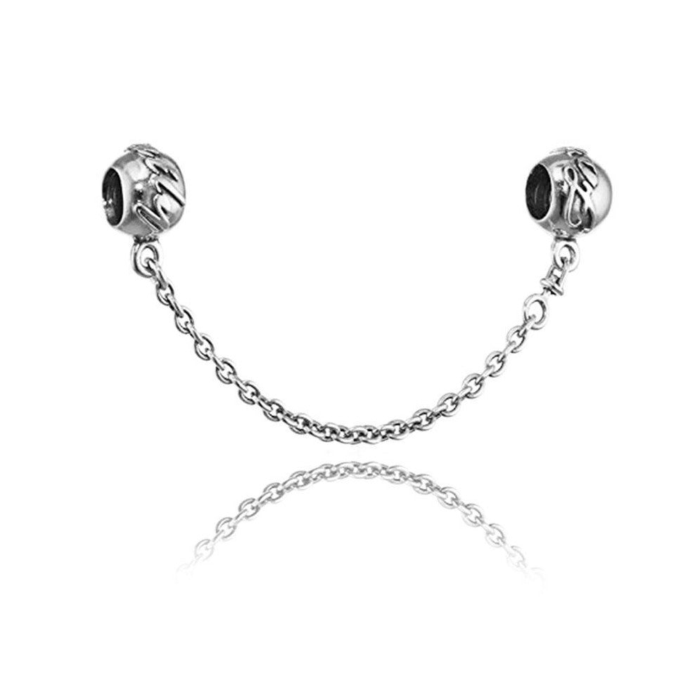Pandora Family Ties Safety Chain Charm 791788-05 - Posh By K