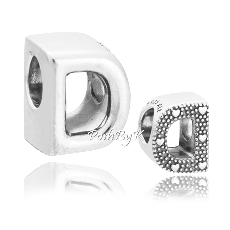 Pandora Reversible Letter D 797458 - Posh By K