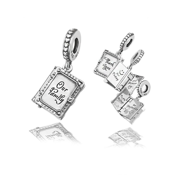 Pandora Family Book Charm 798105 - Posh By K