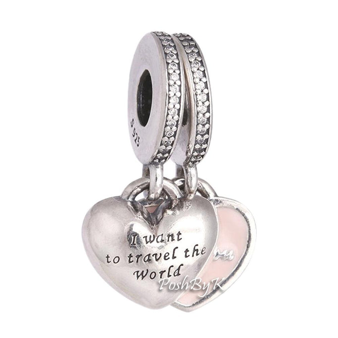 Pandora Travel Together Forever Charm 791717CZ - Posh By K