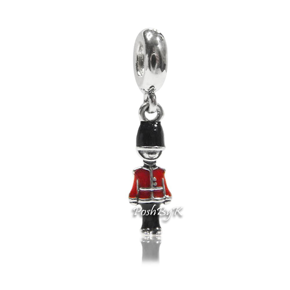 Pandora Royal Guard My Heart Charm 791513ENMX - Posh By K