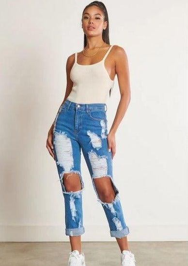 Cadell Medium Stone Distressed Skinny Jeans, ootd,fashion Clothing,womens clothes,fashion blog,fashion trends,Streetwear ,Stand Out ,Sexy Trend, Online Shopping , casual jean, skinny jean, fashion jeans, outdoor jeans
