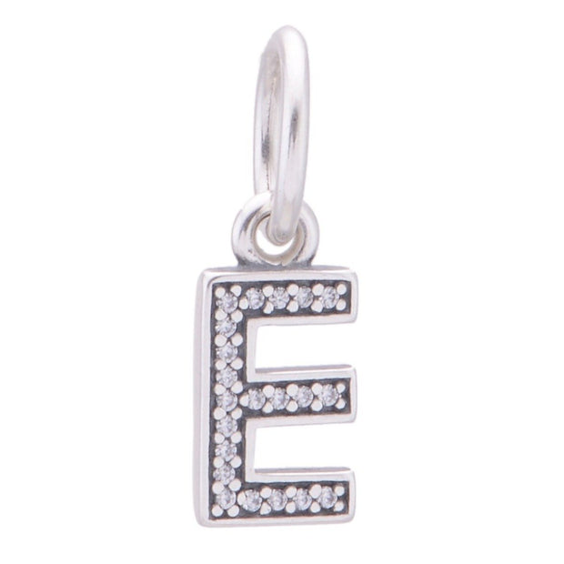 Pandora Letter E Dangle Charm 791317CZ - Posh By K