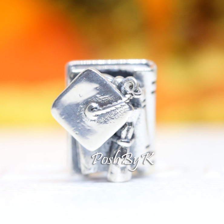 Pandora 2020 Graduation Books Charm 798910C00 - Posh By K
