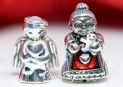 Pandora Angel of Love And Mrs Santa CLaus Christmas Gift Set Charm, pandora jewelry, beads for pandora, beads for pandora bracelets, charms for pandora, beaded jewelry, pandora jewelry, pandora beads, pandora charms